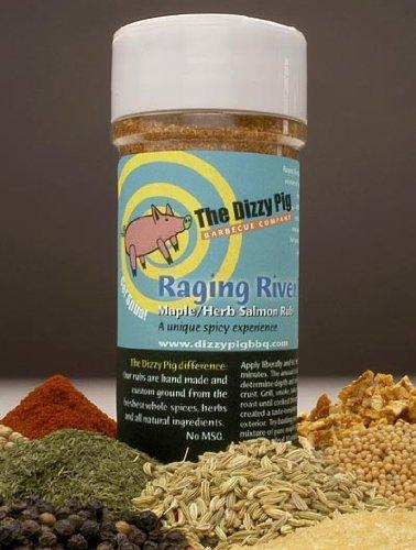 Dizzy Pig BBQ Raging River Rub Spice - 7.9 Oz
