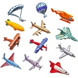 Toy Airplane Set of 12 Pc. (Mini)