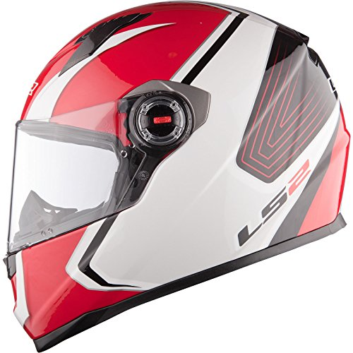 LS2 FF322.22 Corsa Motorcycle Helmet S White Red