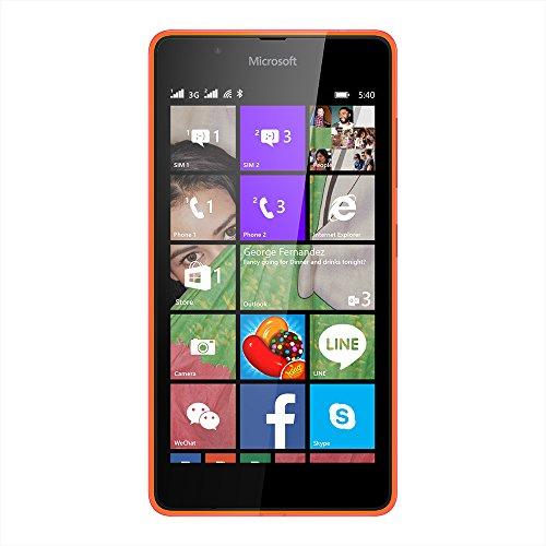Microsoft Lumia 540 (Dual SIM, Orange)