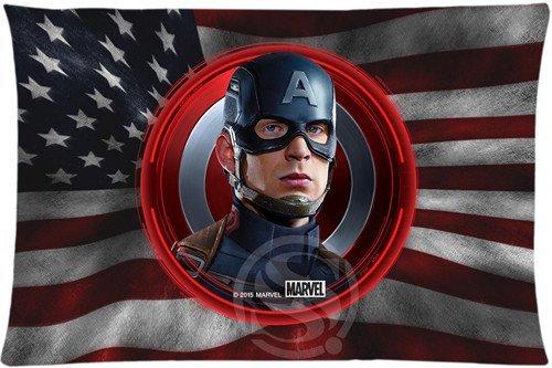 Prague Lu Marvel Captain America Custom Best Nice Bestative Throw Pillow Cases Standard For Lu 8 (Captain America 212 compare prices)