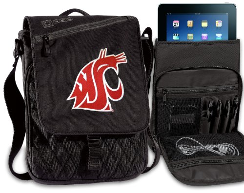 Washington State University Ipad Bags Tablet Cases Wsu Cougars College Logo Holders Tablets, E-Readers Netbooks Ipads, Ipad 2, Kindle, Nook front-915545
