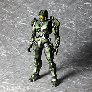 Halo: Combat Evolved: Master Chief Play Arts Kai Action Figure (10th Anniversary)