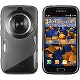 mumbi Schutzh�lle Samsung Galaxy K Zoom H�lle transparent schwarz