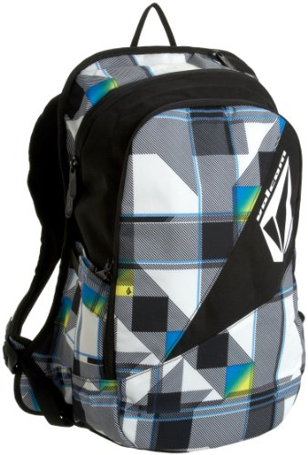 Volcom Men's Archetype Backpack, White/Cyan, One Size