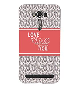 PrintDhaba Besties D-3219 Back Case Cover for ASUS ZENFONE 2 LASER ZE550KL (Multi-Coloured)