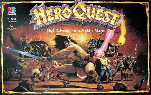 Hero Quest - Board Game