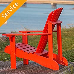Adirondack Chair Assembly - Single Chair