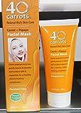 40 Carrots Retinol Rich Skin Care Facial Mask 3.6 Oz.