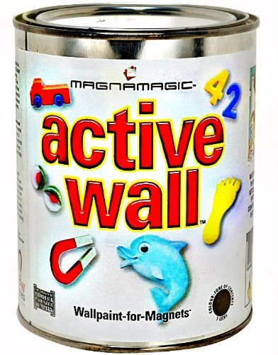 Magnamagic Magnetic Receptive Wall Paint - One Quart image