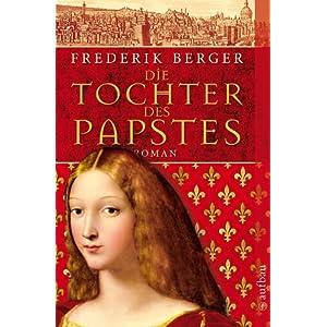 eBook Cover für  Die Tochter des Papstes Roman Frederik Berger