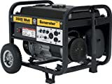 Steele Products SP-GG350 3,500 Watt 4-Cycle Gas Powered Portable Generator With Wheel Kit