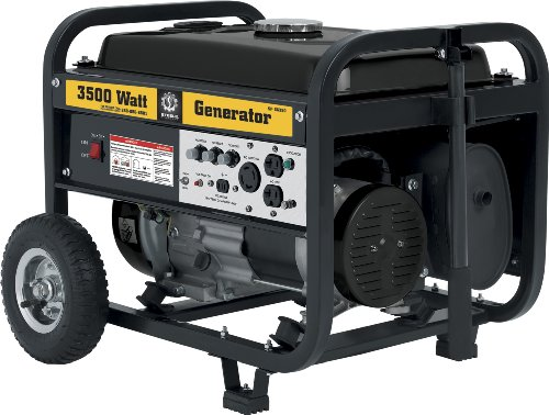 Steele Products Steele Products SP-GG350 3,500 Watt 4-Cycle Gas Powered Portable Generator With Wheel Kit