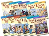 Enid Blyton Famous Five Collection Books 11- 21, RRP £54.89 (Have a Wonderful Time, Go to Mystery Moor, Have Plenty of Fun, On A Secret Trail, Go to Billycock Hill, Get Into A Fix, On Finniston Farm, Go to Demon's Rocks, A Mystery to Solve, Are Together