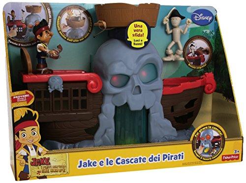 Fisher Price CCV49 - Jake e le Cascate dei Pirati
