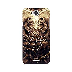Mobicture Skull Abstract Premium Printed Case For InFocus M530