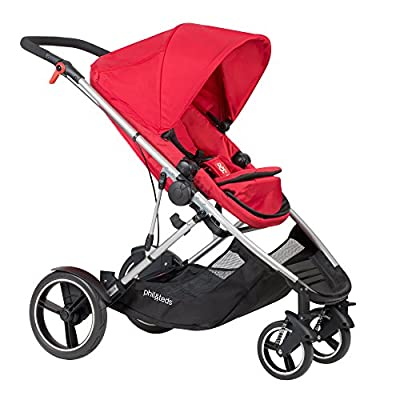 Phil and Teds Voyager Buggy Red by Phil and teds