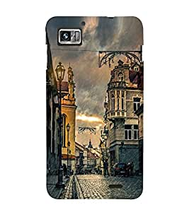 Vizagbeats Raining Streets Back Case Cover for Lenovo S 860