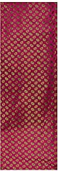 Pari Collection Women's Silk Unstitched Kurta Material (Pink)
