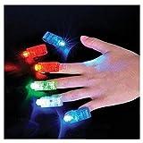 SHINA 40 piezas multicolores Anillos de Dedo Brillantes con Luces LED para estilo Bumpy Jelly para Fiestas Disfraces Raves Regalos Bolsos (Tipo 1)