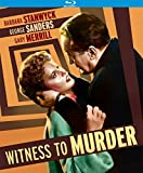 Witness to Murder [Blu-ray]