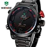 WEIDE Herren-Armbanduhr Milit�rstil S...