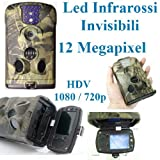 Fototrappola lt acorn 6210mc hd hunting camera videotrappola scouting keep trial camera