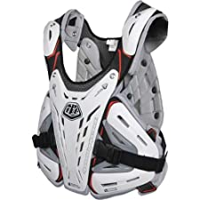 Troy Lee Designs CP 5900 Youth Roost Guard MX/Off-Road/Dirt Bike Motorcycle Body Armor - White / One Size
