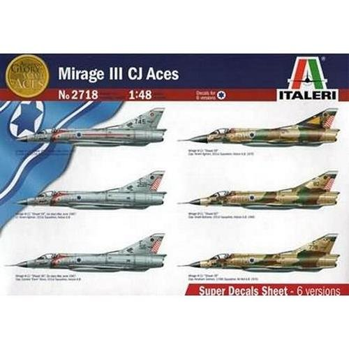 Italeri Models Mirage IIICJ Aces Kit (Ace Model Kits compare prices)