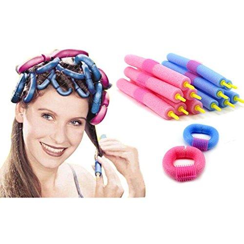 12 pz bella capelli innocuo Curling rulli perfetto Pro-make strumenti di Styling per numerosi incontri Hair Dressing