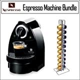 Nespresso C100B / C101B Essenza C100 Black Coffee Maker Espresso Machine Wi ....