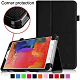 [CORNER PROTECTION] Fintie Samsung Galaxy Tab Pro 8.4 Folio Case - Slim Fit Leather Cover for TabPro 8.4-inch Tablet with Auto Sleep/Wake Feature, Black