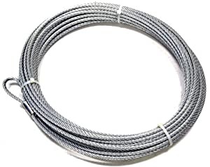 WARN 15712 Replacement Wire Winch Rope 3/8 in. x 125 ft.