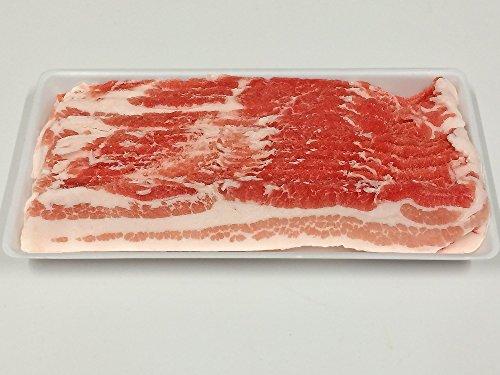豚バラ スライス 三元豚 1kg(500g ×2パック) 激安 冷凍 業務用