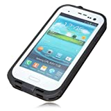 New Waterproof Shockproof Dirtproof Snowproof Protection Case Cover for Samsung Galaxy S3 I9300 (White) (White & Grey)