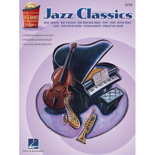 Jazz Classics   Guitar   Big Band Play Along Volume 4   BK+CD