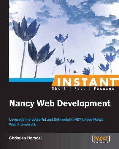 Christian Horsdal - Instant Nancy Web Development