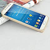 Go Crazzy Ultra Thin Metal Bumper Case For Samsung Galaxy S4 I9500 (Champagne Gold)
