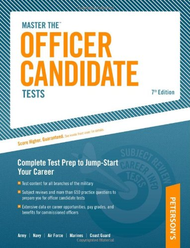 Officer Candidate Tests, 7Th Edition