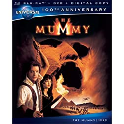 The Mummy [Blu-ray + DVD + Digital Copy] (Universal's 100th Anniversary)