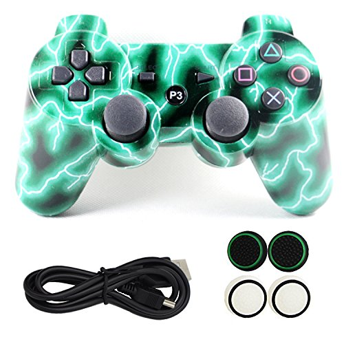 yins-ps3-bluetooth-vedio-game-controller-with-usb-charging-cable-and-thumb-silicone-grips-wireless-g