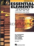 img - for Hal Leonard Essential Elements 2000 Plus Percussion Book 1 with CD-ROM book / textbook / text book