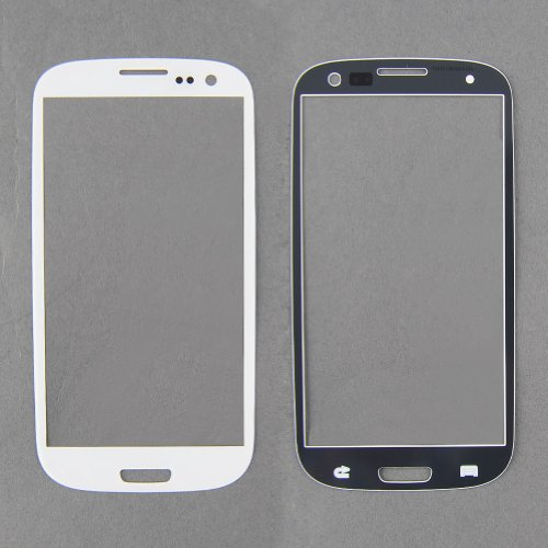 {Factory Direct Sale} Front Outer Glass Screen Replacement For Samsung Galaxy S3 + Tools 3M Adhesive (White) - Christmas Gift