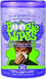 Boogie Wipes Canister, Great Grape, 90 Extra Soft Wipes