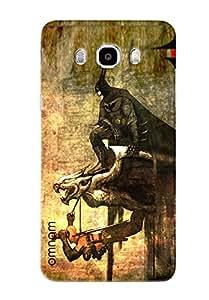 Omnam Batman On Bird Printed Designer Back Cover Case For Samsung Galaxy J7 (2016)