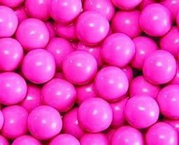 Hot Pink Sixlets Candy 5LB Bag (Bulk)