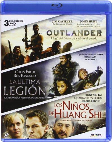 Pack: La Última Legión + Los Niños De Huang Shi + Outlander [Blu-ray]