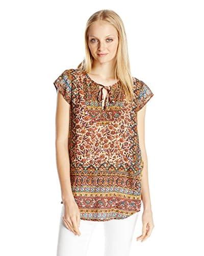Lucky Brand Women's Autumn Printed Top