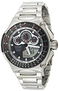 Citizen Mens JW0010-52E Eco-Drive Promaster SST Stainless Steel Watch by Citizen