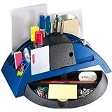 Herlitz 1601368 Big Butler V, Schreibtischbox/ Stiftablage, Farbe blau